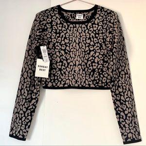 BNWT!!! Sunday Best Volpe sweater